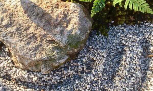 石庭のディテール。